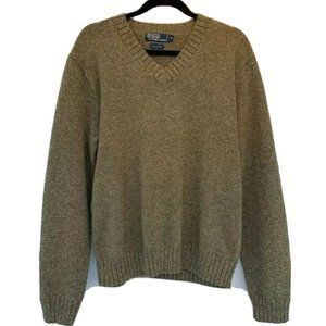 Polo Ralph Lauren Pullover Sweater V Neck Long Slv